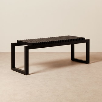 Cutter Bench - Oak Black