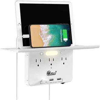 ON2NO Socket Shelf & Outlet Extender