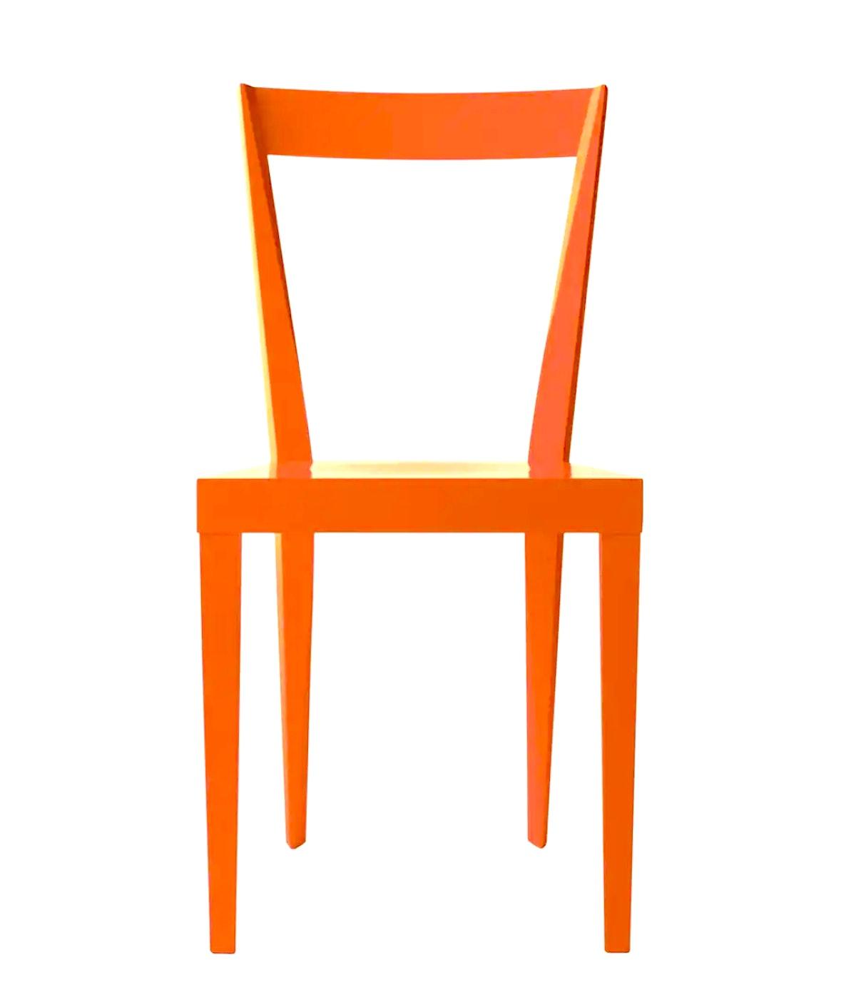 Livia Orange Chair - Set of 2
