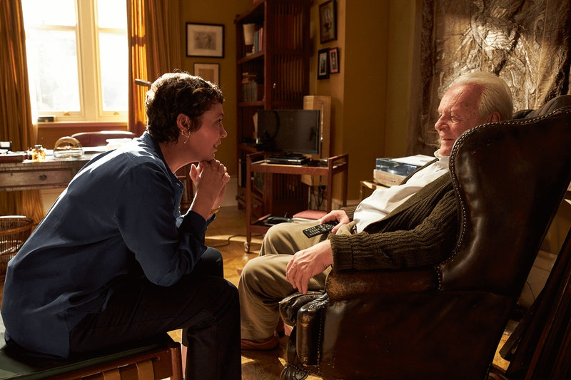 olivia coleman & anthony hopkins in the father