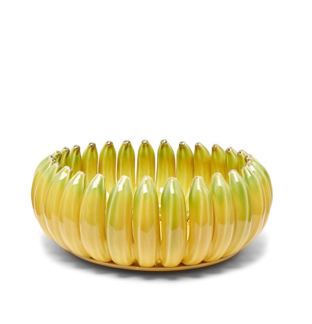Banana Large Earthenware Bowl