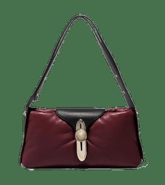 Padded Latch Shoulder Bag