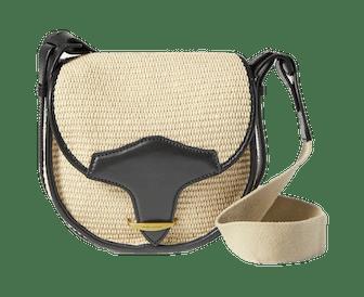 Botsy Raffia Shoulder Bag