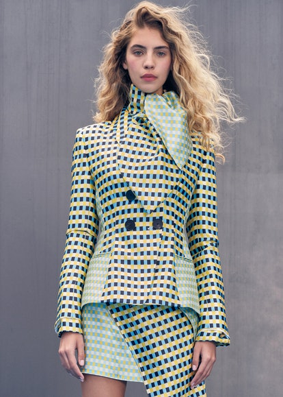 Model at Claudia Li.