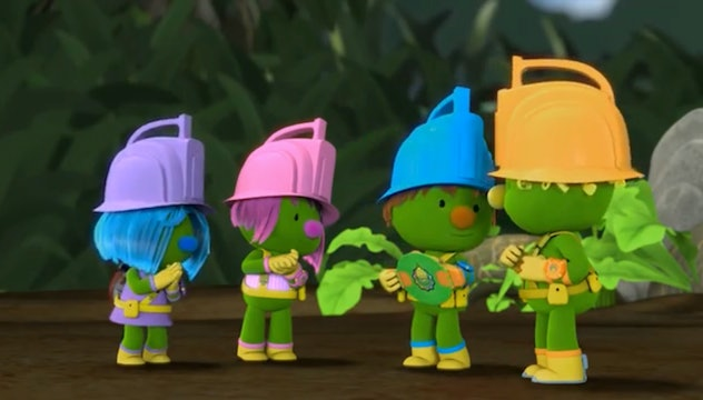 'The Doozers' is based on the characters from 'Fraggle Rock.'