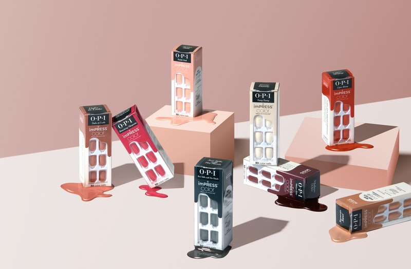 OPI just launched its first-ever press-on nails in all your favorite shades.