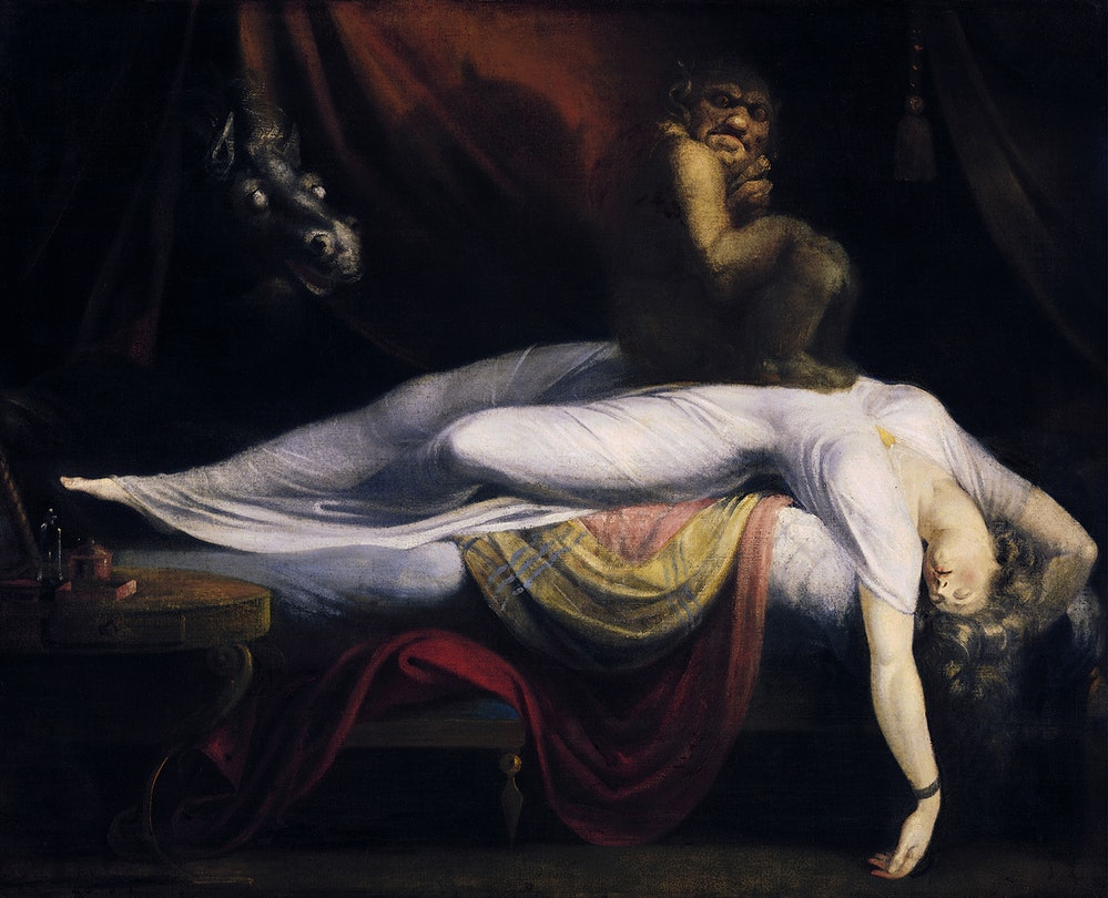 John Henry Fuseli's 'The Nightmare'