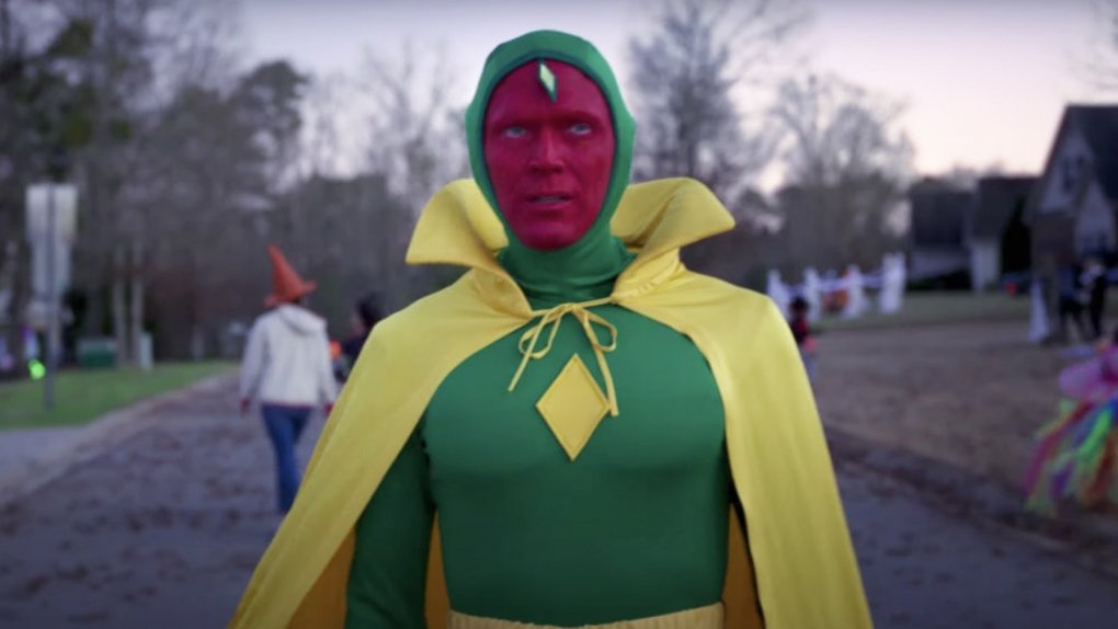 Paul Bettany as Vision in WandaVision