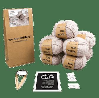 Medea blanket - Knitting kit