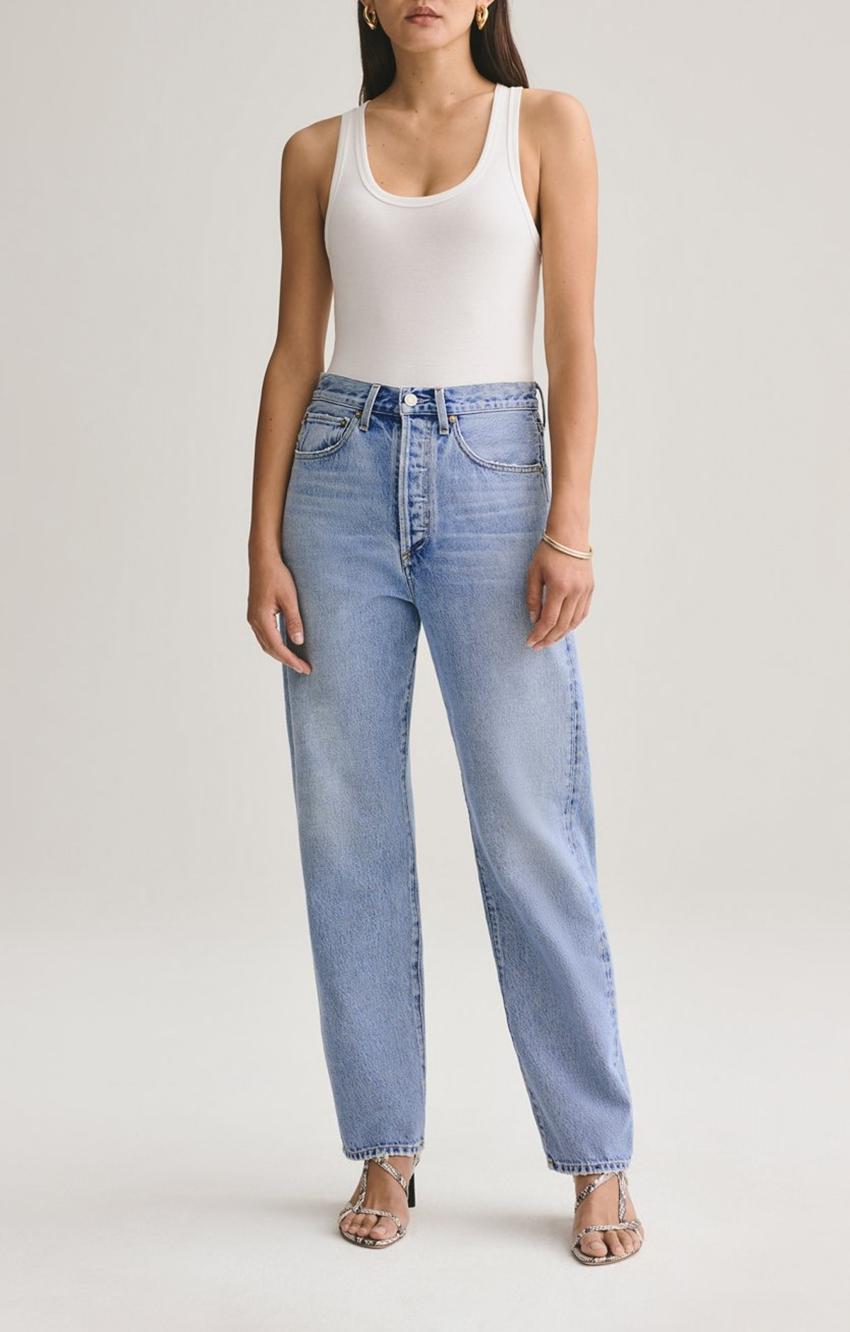 90s Mid-Rise Loose Fit
