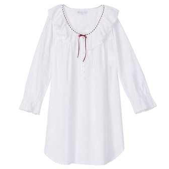 Cotton Lawn Short Nightgown