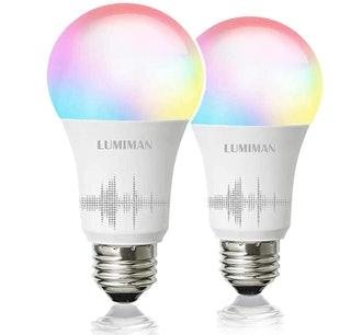 LUMIMAN Smart Light Bulbs (2-Pack)