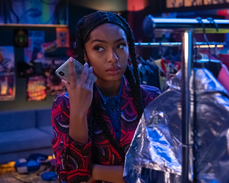 Yara Shahidi as Zoey Johnson in 'grown-ish' Season 3B via Freeform's press site