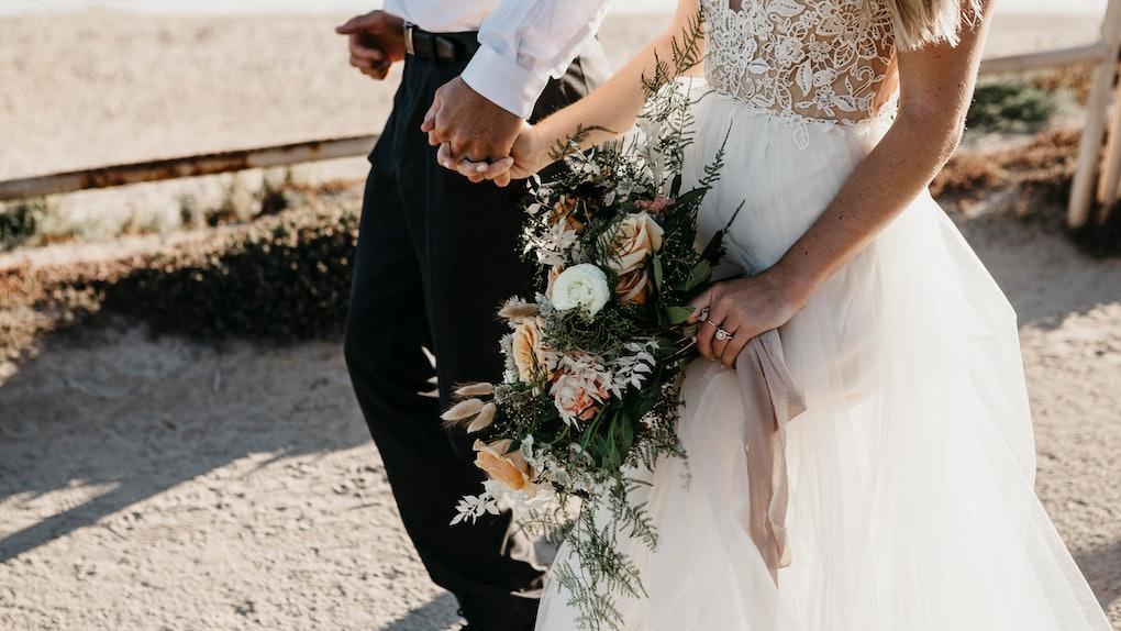 Wedding dress picture