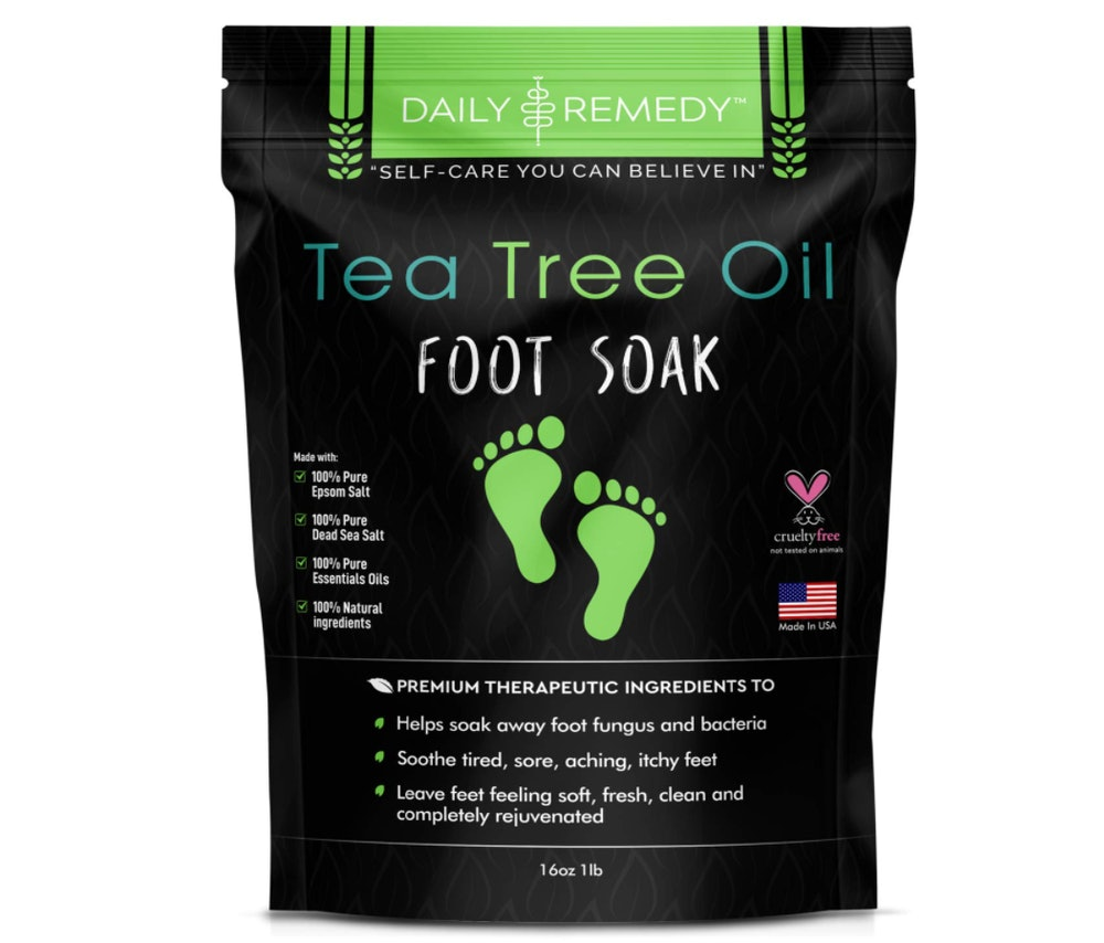 DAILY REMEDY Tea Tree Oil Foot Soak with Epsom Salt