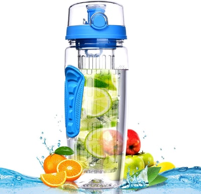 OMORC Sport Fruit Infuser Water Bottle (32 Oz.)