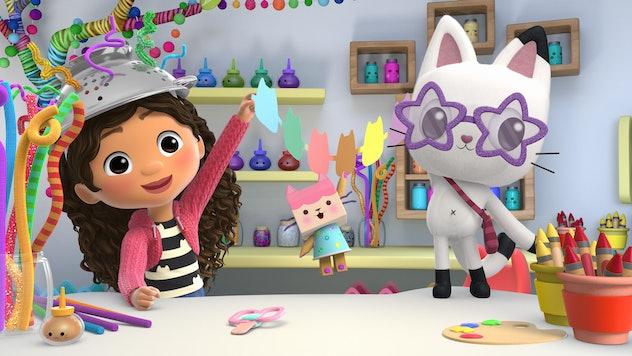 Gabby's Dollhouse is a fun kids show to stream on Netflix.
