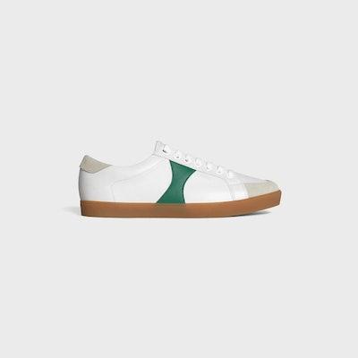 Triomphe Low Lace-Up Sneaker Plain Logo