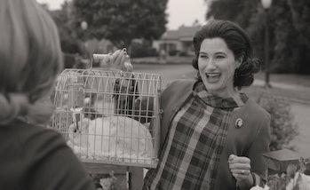 Kathryn Hahn as Agnes/Agatha Harkness in WandaVision