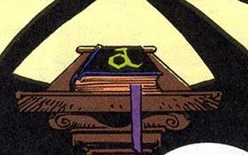 The Darkhold in Marvel comics.