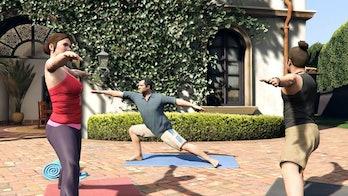 gta 5 yoga