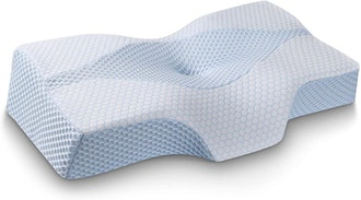 Mkicesky Side Sleeper Contour Memory Foam Pillow