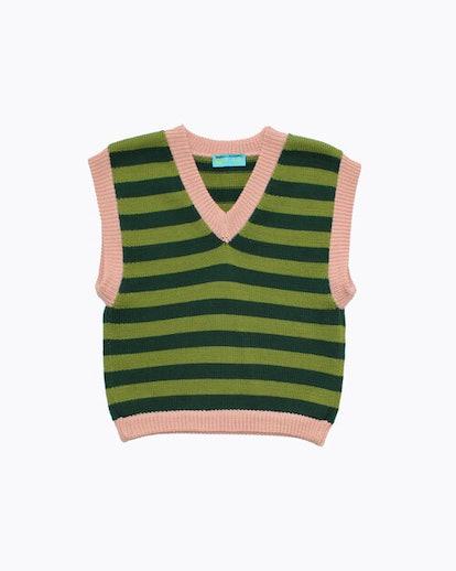 Ella Emhoff – Striped Sweater Vest