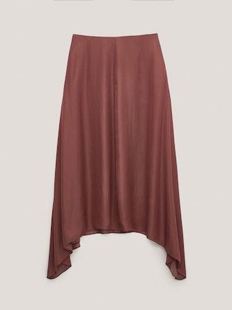 Flowing Midi Skirt