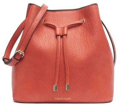 Calvin Klein Gabrianna Novelty Bucket Shoulder Bag