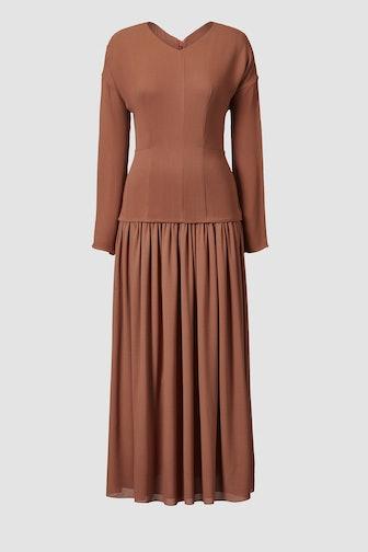 Etienne Silk Midi Dress