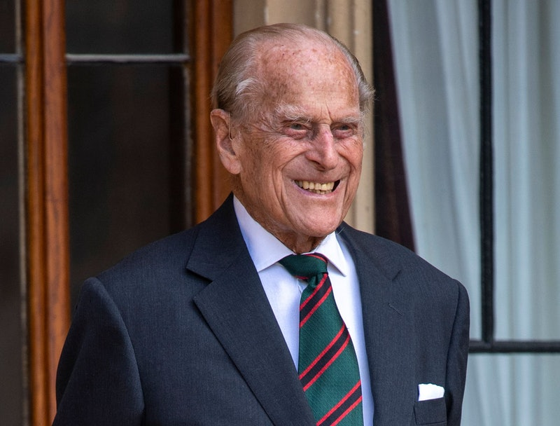 Prince Philip pictured at Windsor Castle in July 2020