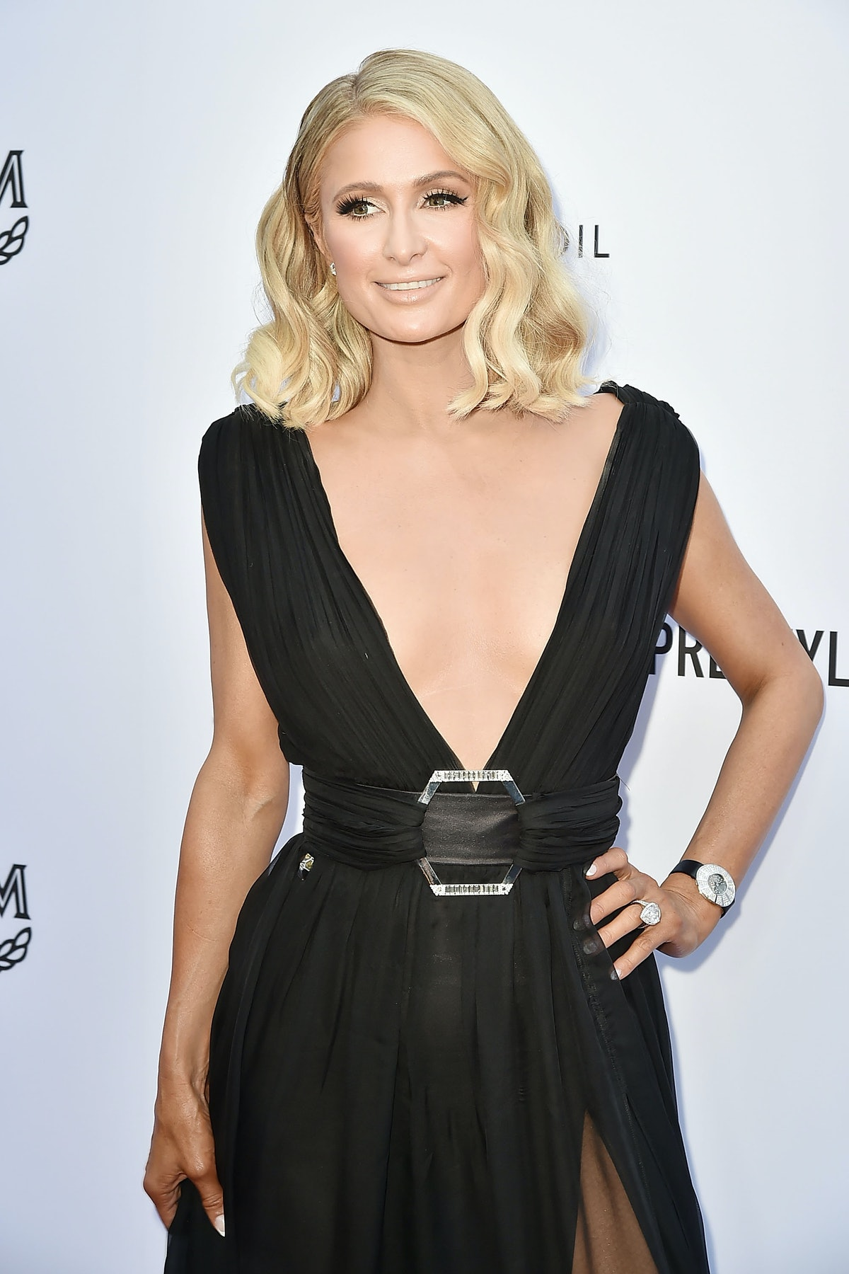 Paris Hilton attends The Daily Front Row's 4th Annual Fashion Los Angeles Awards - Arrivals at The B...