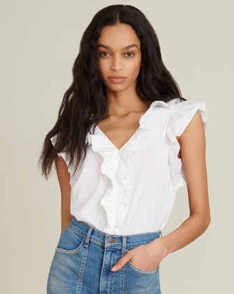 Stacie Ruffled Top