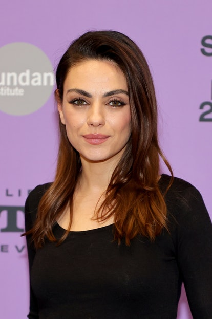 """Mila Kunis' subtle lightened color is an example of """"inner glow' highlights."""