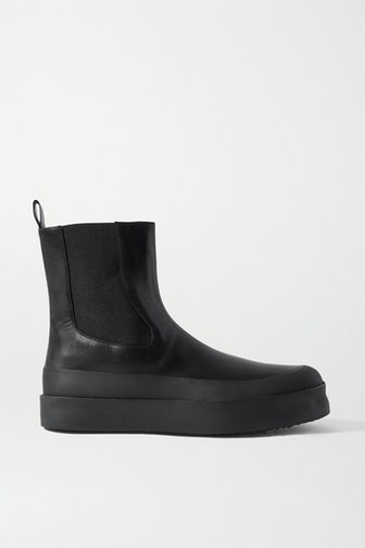 Zaniah Leather Chelsea Boots