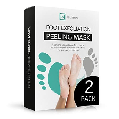 LAVINSO Foot Peel Masks (2-Pack)
