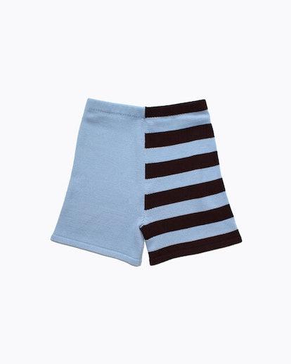 Ella Emhoff – Half Striped Knit Shorts