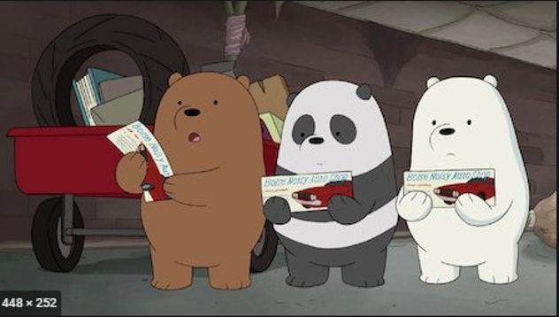 'We Bare Bears' is an adorable Netflix show.