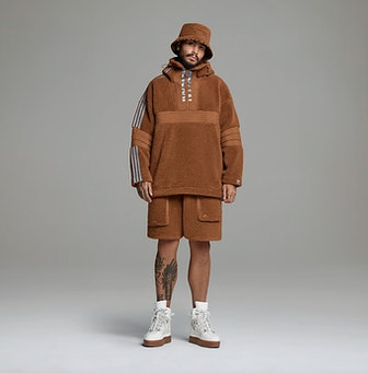 Half-Zip Teddy Jacket