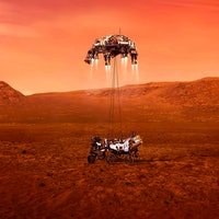 Mars 2020 rover landing: NASA images show expectations vs. reality