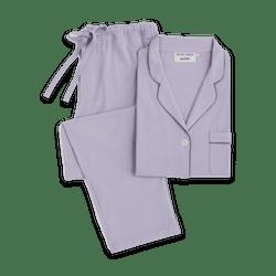 Sleepy Jones X Purple Silky Soft Pajamas