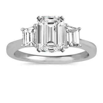 Classic Three-Stone Engagement Ring