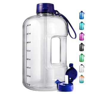 AQUAFIT One Gallon Water Bottle with Time Marker