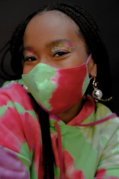Tie-Dye Face Masks