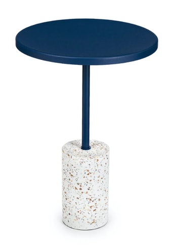 Narro Terrazzo Navy Side Table