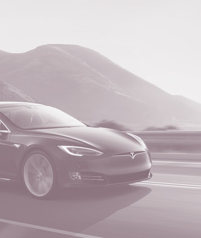 A Tesla Model S which was recently refreshed with a new interior and more.