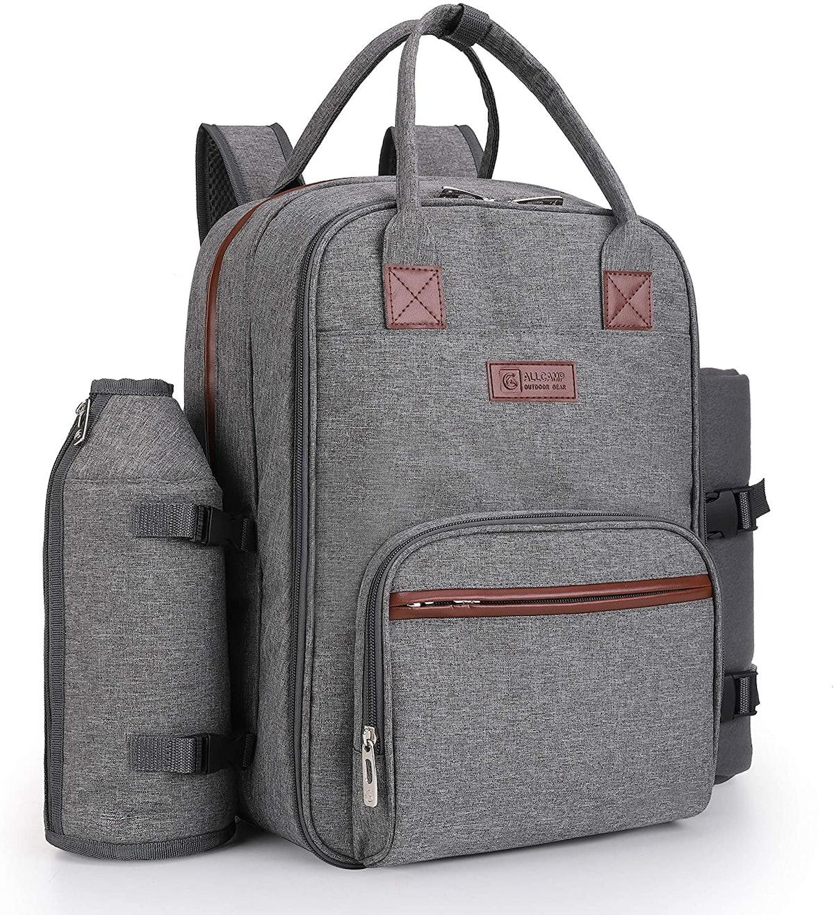 ALLCAMP Picnic Backpack for 2