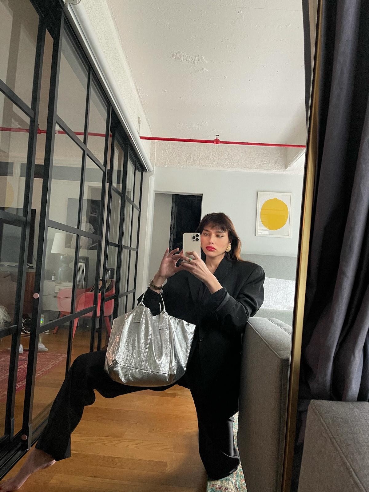 Natalie Suarez at home.