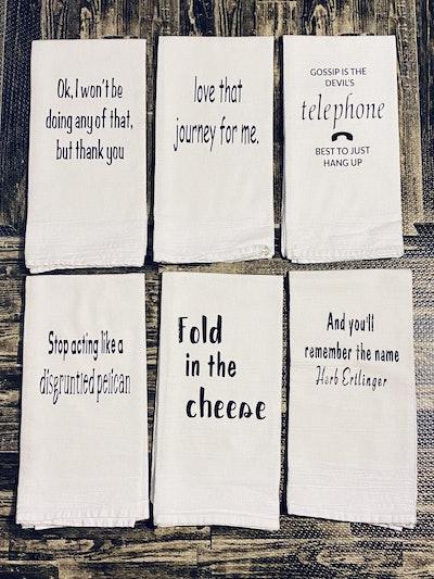 BrighterHomes  3-Schitt's Creek Kitchen Towels-