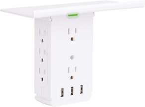 CFMASTER Outlet Extender with USB Ports